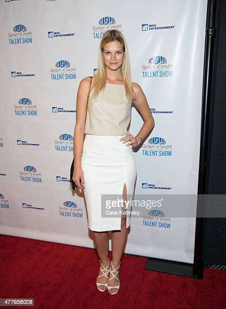 Nadine Leopold attends the Garden Of Dreams Foundation Children Talent Show at Radio City Music Hall on June 18 2015 in New York City