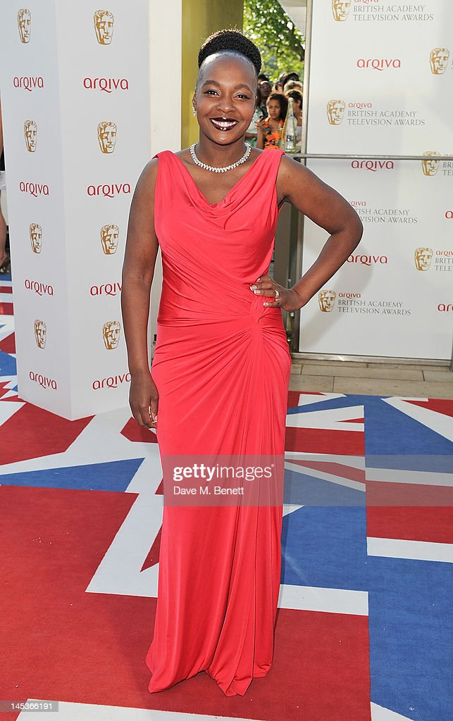 Nadine Marshall arrives at the Arqiva British Academy Television Awards 2012 at Royal Festival Hall on May 27, 2012 in London, England.