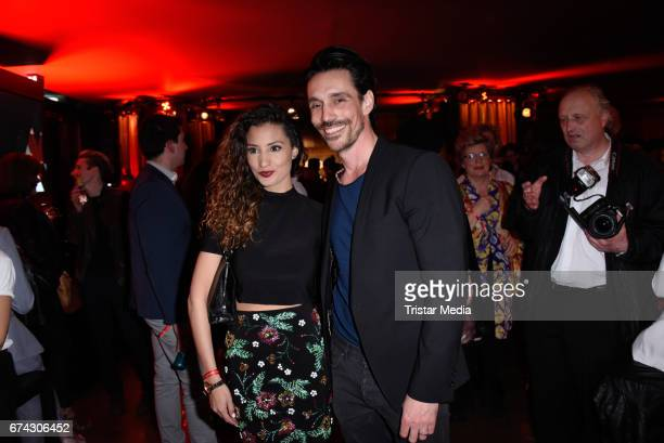 Nadine Menz and Philipp Christopher Wolter attend the New Faces Award Film at Haus Ungarn on April 27 2017 in Berlin Germany