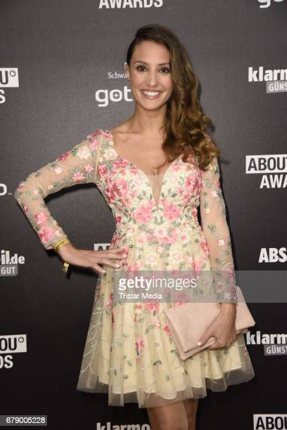 Nadine Menz attends the About You Awards on May 4 2017 in Hamburg Germany