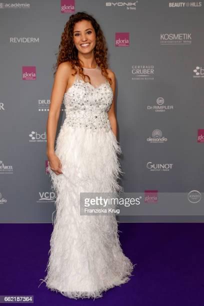 Nadine Menz attends the Gloria Deutsche Kosmetikpreis at Hilton Hotel on March 31 2017 in Duesseldorf Germany