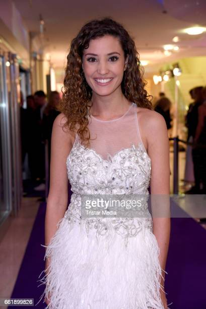 Nadine Menz attends the Gloria Deutscher Kosmetikpreis 2017 at Hilton Hotel on March 31 2017 in Duesseldorf Germany