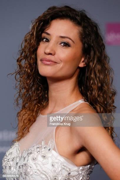 Nadine Menz attends the Gloria Deutscher Kosmetikpreis at Hilton Hotel on March 31 2017 in Duesseldorf Germany