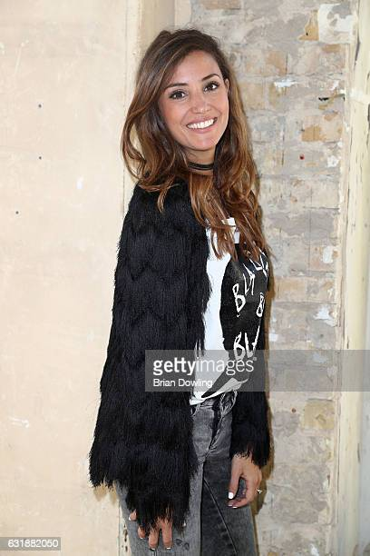 Nadine Menz attends the holyGhost show during the MercedesBenz Fashion Week Berlin A/W 2017 at Kaufhaus Jandorf on January 17 2017 in Berlin Germany