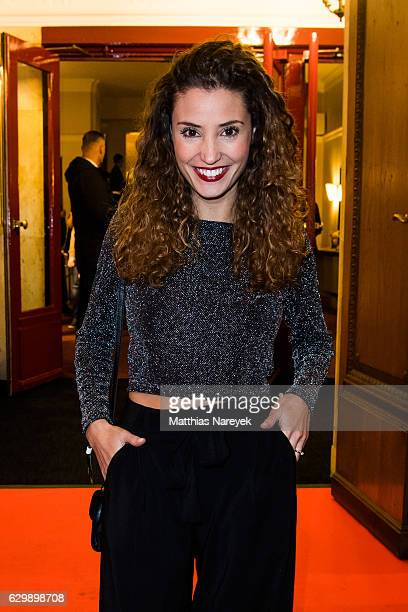 Nadine Menz attends the 'Winnetou Eine neue Welt' premiere at Delphi on December 14 2016 in Berlin Germany