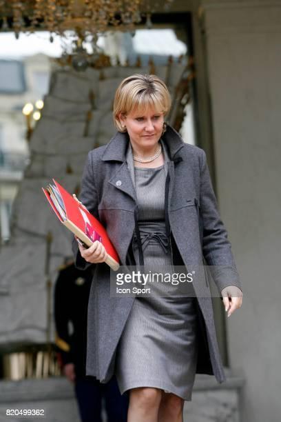 Nadine MORANO conseil des Ministres Palais de l'Elysee
