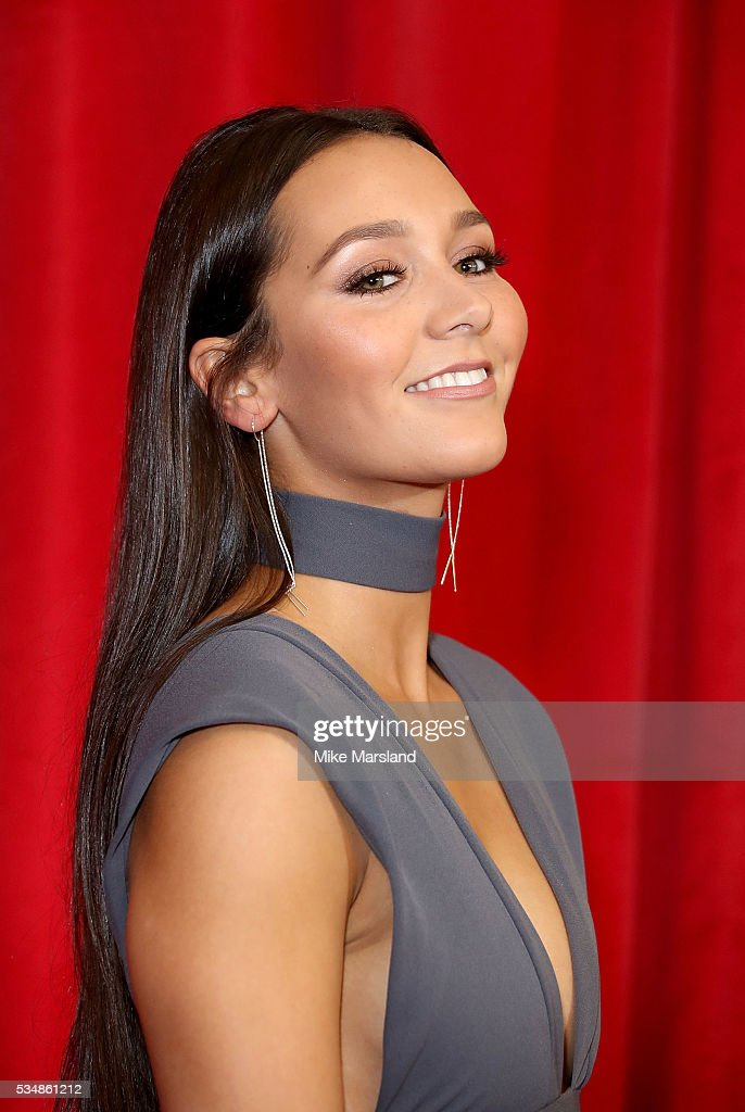 Nadine Mulkerrin attends the British Soap Awards 2016 at Hackney Empire on May 28, 2016 in London, England.