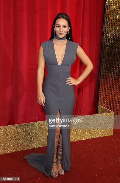 Nadine Mulkerrin attends the British Soap Awards 2016 at Hackney Empire on May 28 2016 in London England