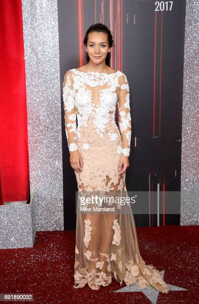 Nadine Mulkerrin attends The British Soap Awards at The Lowry Theatre on June 3 2017 in Manchester England The Soap Awards will be aired on June 6 on...