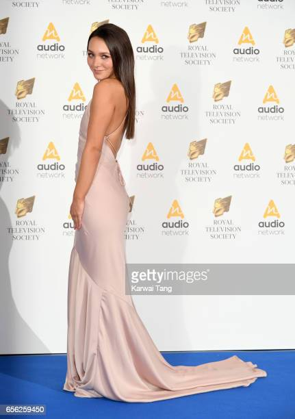 Nadine Mulkerrin attends the Royal Television Society Programme Awards at the Grosvenor House on March 21 2017 in London United Kingdom