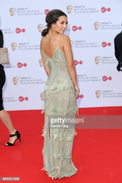 Nadine Mulkerrin attends the Virgin TV BAFTA Television Awards at The Royal Festival Hall on May 14 2017 in London England
