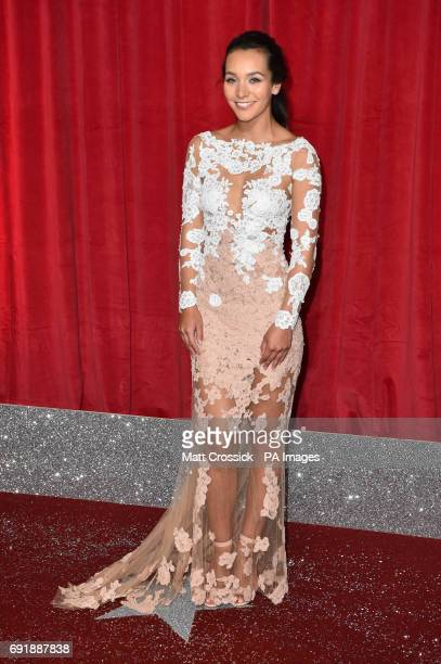 Nadine Rose Mulkerrin attending the British Soap Awards 2017 at The Lowry Salford Manchester