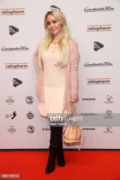 Nadine Trompka attends the 99FireFilmsAward at Admiralspalast on February 16 2017 in Berlin Germany