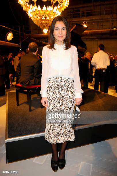 Nadine Warmuth attend the Babelsberg 100th Birthday Ceremony at Studio Babelsberg on February 12 2012 in Berlin Germany