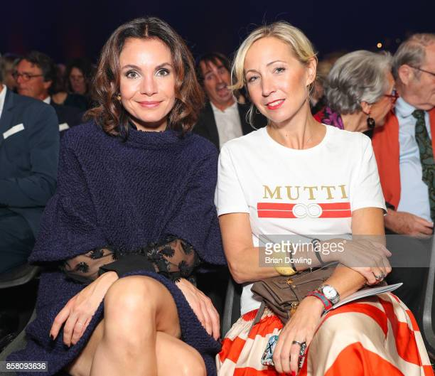 Nadine Warmuth attends the Tribute To Bambi show at Station on October 5 2017 in Berlin Germany