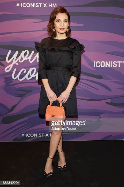 Nadine Warmuth attends the Young ICONs Award in cooperation with HM and Tiffany's Co at BRLO Brwhouse on February 14 2017 in Berlin Germany