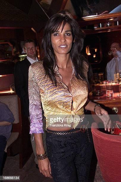 Nadja Abd El Farrag At The Formula 1 Nürburgring