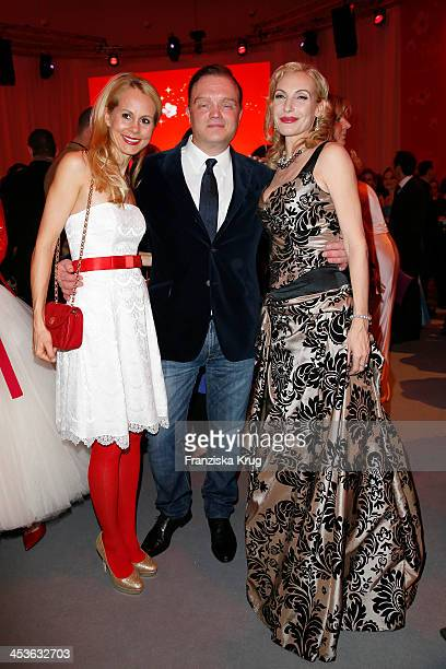 Nadja Anna zu SchaumburgLippe Alexander zu SchaumburgLippe and Ute Lemper attend the Barbara Tag 2013 at Postpalast on December 04 2013 in Munich...