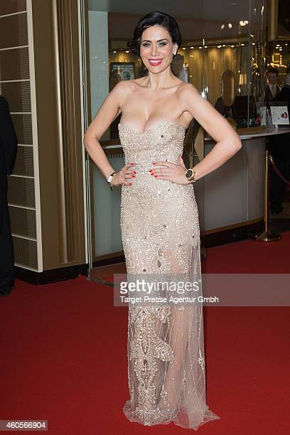 Nadja Atwal attends the premiere of the film '96 Hours Taken 3' at Zoo Palast on December 16 2014 in Berlin Germany