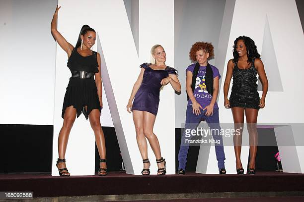 Nadja Benaissa Sandy Mölling Lucy Diakowska Und Jessica Wahls Von Den 'No Angels' Stellen Das Neue Album 'Welcome To The Dance' In Berlin Vor