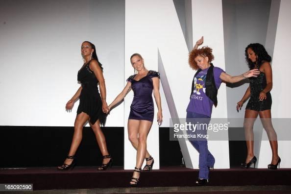 Nadja Benaissa Sandy Mölling Lucy Diakowska Und Jessica Wahls Von Den 'No Angels' Stellen Das Neue Album 'Welcome To The Dance' In Berlin Vor