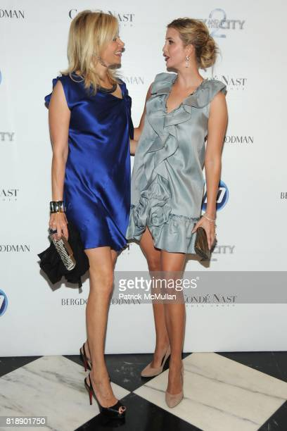 Nadja Swarovski and Ivanka Trump attend HP and COND… NAST Screening of 'Sex the City 2' at Paris Theater on May 25 2010 in New York City