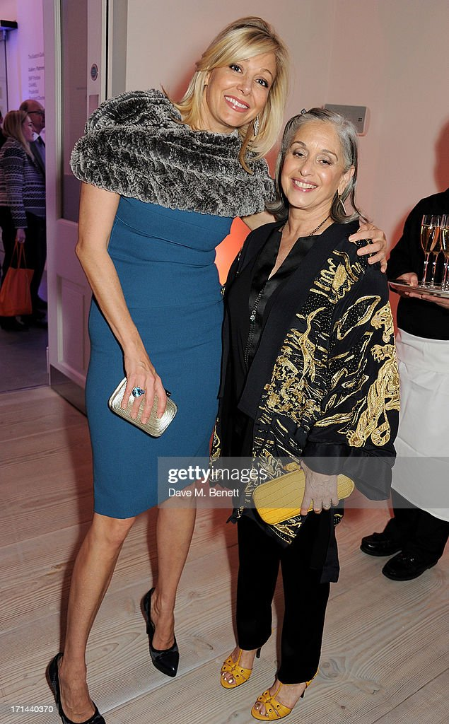 <a gi-track='captionPersonalityLinkClicked' href=/galleries/search?phrase=Nadja+Swarovski&family=editorial&specificpeople=653118 ng-click='$event.stopPropagation()'>Nadja Swarovski</a> (L) and Susan Hayden attend the 'Arts For Life' charity auction hosted by Susan Hayden, <a gi-track='captionPersonalityLinkClicked' href=/galleries/search?phrase=Nadja+Swarovski&family=editorial&specificpeople=653118 ng-click='$event.stopPropagation()'>Nadja Swarovski</a> and Natalia Vodianova to raise funds for Borne, a research programme on premature birth, at the Saatchi Gallery on June 24, 2013 in London, England.