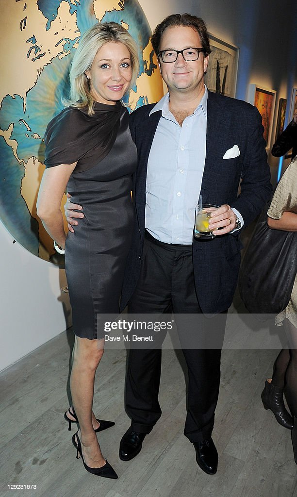 <a gi-track='captionPersonalityLinkClicked' href=/galleries/search?phrase=Nadja+Swarovski&family=editorial&specificpeople=653118 ng-click='$event.stopPropagation()'>Nadja Swarovski</a> (L) attends 'Arts For Human Rights', the inaugural Bianca Jagger Human Rights Foundation Gala supported by Swarovski, at Phillips de Pury And Company on October 14, 2011 in London, England.
