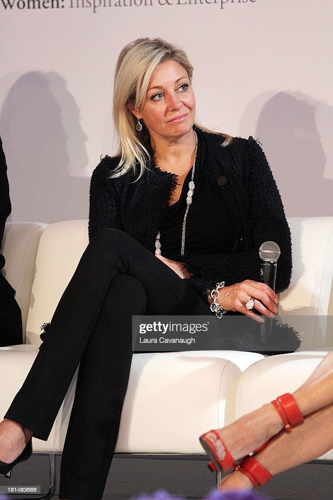 Nadja Swarovski attends day 2 of the 4th Annual WIE Symposium at Center 548 on September 21, 2013 in New York City.