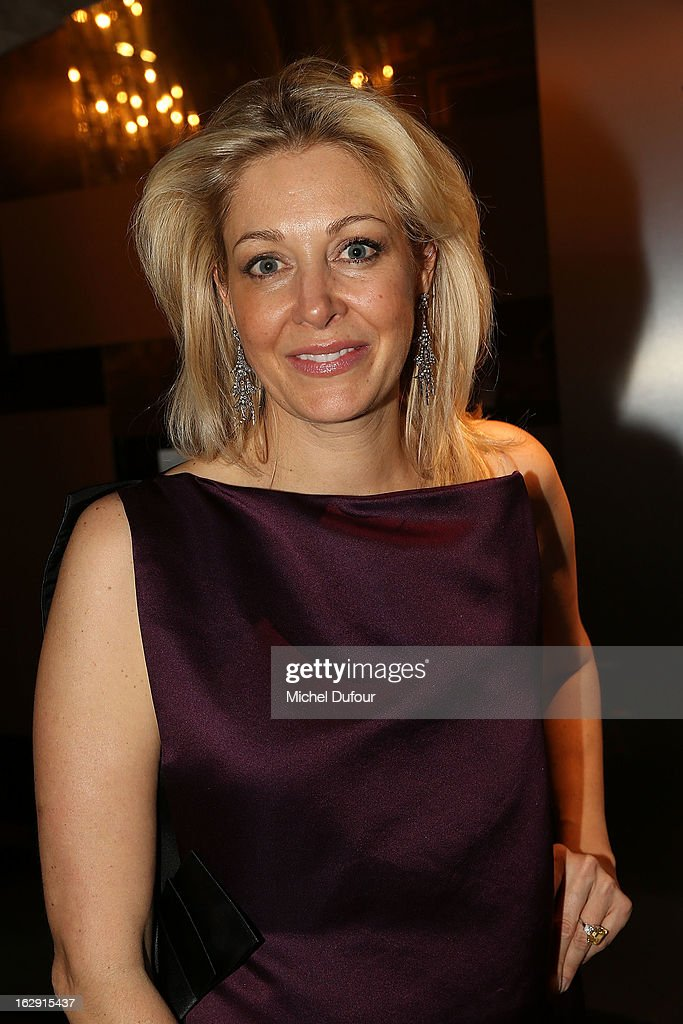 Nadja Swarovski attends Swarovski 'Paris Haute Couture' Exhibition as part of Paris Fashion Week on February 28, 2013 in Paris, France.