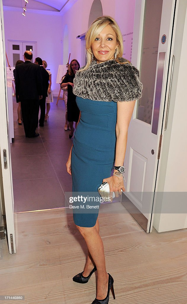 <a gi-track='captionPersonalityLinkClicked' href=/galleries/search?phrase=Nadja+Swarovski&family=editorial&specificpeople=653118 ng-click='$event.stopPropagation()'>Nadja Swarovski</a> attends the 'Arts For Life' charity auction hosted by Susan Hayden, <a gi-track='captionPersonalityLinkClicked' href=/galleries/search?phrase=Nadja+Swarovski&family=editorial&specificpeople=653118 ng-click='$event.stopPropagation()'>Nadja Swarovski</a> and Natalia Vodianova to raise funds for Borne, a research programme on premature birth, at the Saatchi Gallery on June 24, 2013 in London, England.