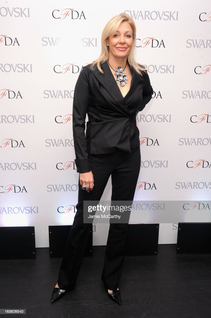 Nadja Swarovski attends the CFDA 2013 Awards Nomination event on March 13, 2013 in New York City.