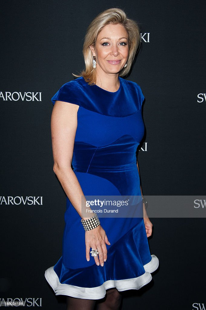 Nadja Swarovski attends the Swarovski Dinner In Honor of the Bouroullec Brothers at Chateau de Versailles on November 14, 2013 in Versailles, France.