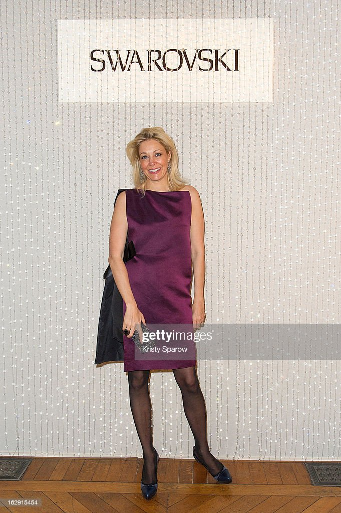 Nadja Swarovski attends the Swarovski 'Paris Haute Couture' Exhibition party as part of Paris Fashion Week on February 28, 2013 in Paris, France.
