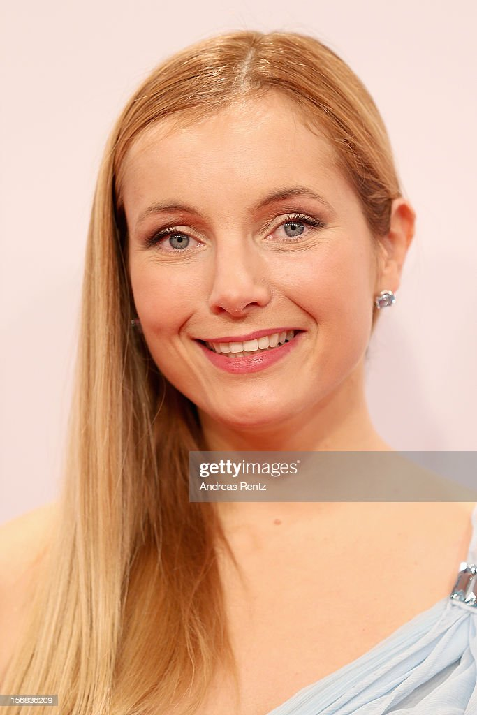 Nadja Uhl attends 'BAMBI Awards 2012' at the Stadthalle Duesseldorf on November 22, 2012 in Duesseldorf, Germany.