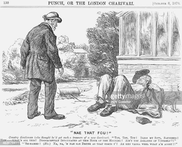 Nae That Fou 1870 This cartoon illustrates the growing difficulties that the middleclasses were experiencing in finding and retaining good servants...