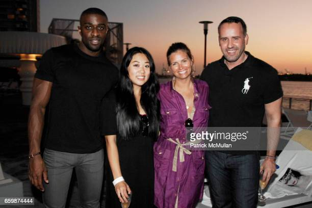 Naeem Delbridge Taylor Choi Susan Kilkenny and Scott Buccheit attend INTERVIEW Magazine FRED PERRY Host's Ping Pong Tournament at Mondrian Hotel on...