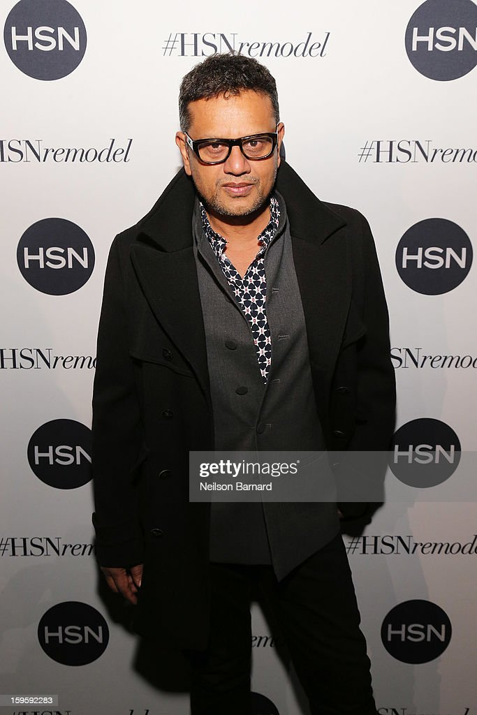 Naeem Khan attends the celebration of HSN Digital Redesign at Marquee New York on January 16, 2013 in New York City.