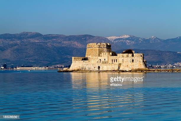Nafplion harbour fort Bourtzi