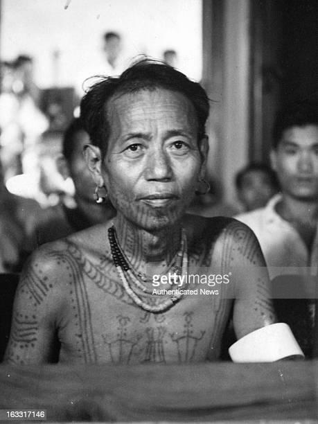 Naga people of Burma 1955
