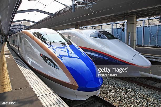 Nagano Shinkansen Bullet train, Japan