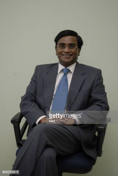 V Nageswara Rao MD and CEO of IDBI Fortis Life Insurance Co Ltd photographed at his office in Mumbai