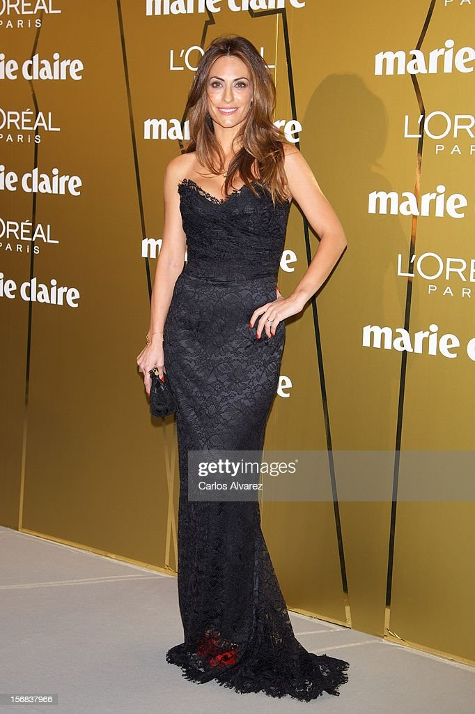 Nagore Aramburu attends Marie Claire Prix de la Moda Awards 2012 at the French Embassy on November 22, 2012 in Madrid, Spain.