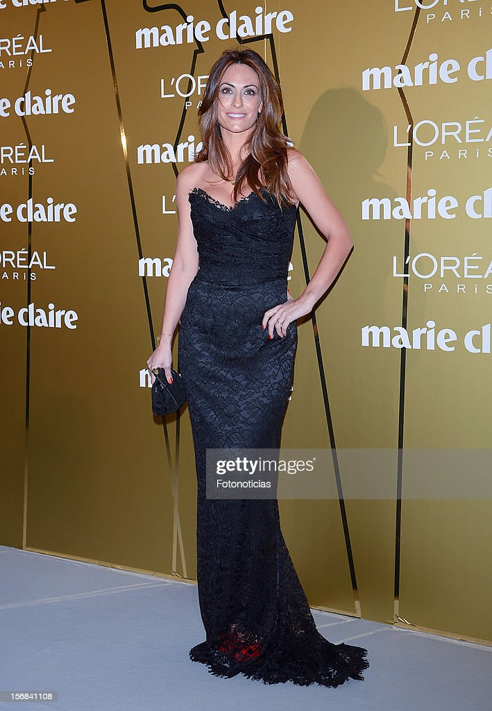 Nagore Aramburu attends 'Marie Claire Prix de la Mode 2012' ceremony at the French Ambassadors Residence on November 22, 2012 in Madrid, Spain.