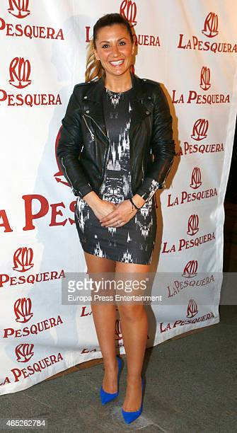 Nagore Robles attends La Pesquera Bullfighting Award at La Pesquera restaurant on March 4 2015 in Madrid Spain