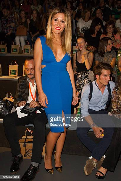 Nagore Robles is seen attending MercedesBenz Fashion Week Madrid Spring/Summer 2015/16 at Ifema on September 21 2015 in Madrid Spain