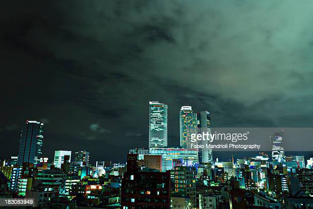 Nagoya at night