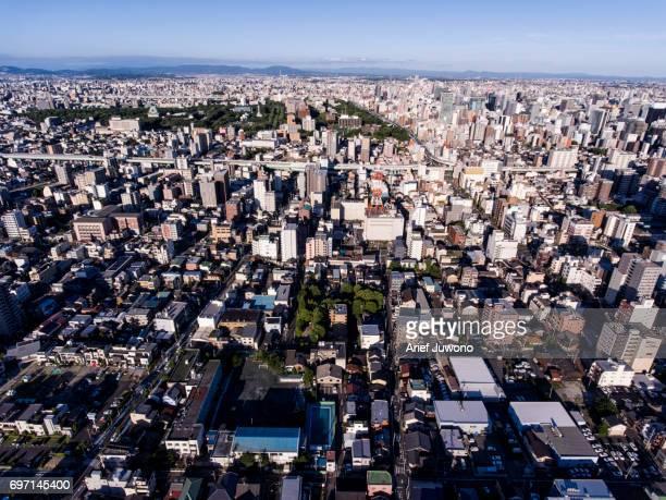 Nagoya City From the Sky
