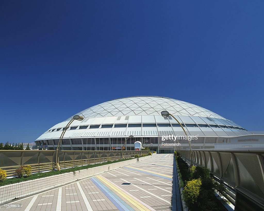 Nagoya Dome, Nagoya City, Japan, Front View, Pan Focus