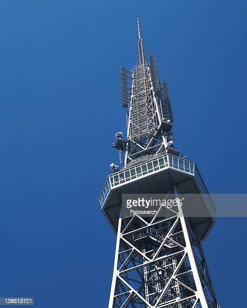 Nagoya Television Tower, Nagoya City, Japan, Low Angle View, Pan Focus